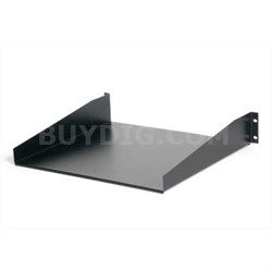 Black Standard Universal Server Rack Cabinet Shelf - CABSHELF