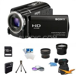 HDR-XR160 Handycam Full HD Camcorder w/ 30x Optical Zoom ULTIMATE BUNDLE