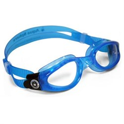 Aqua Sphere Kaiman Swim Goggle with Clear Lens and Blue Frame - 171200