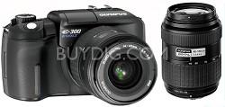 Evolt E-300 DSLR Double Lens Kit (Zuiko 14-45 and 40-150 Zoom Lenses)