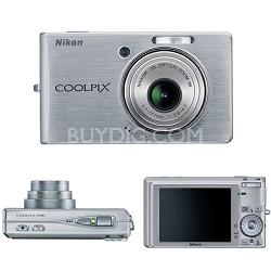 Coolpix S500 Digital Camera (Silver)