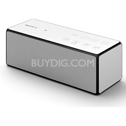 SRS-X3/WHT Portable Bluetooth Speaker (White)