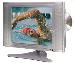 15 inch Edtv-ready flat screen Lcd TV With Built-in Dvd Player