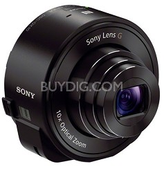 DSC-QX10/B Smartphone Attachable Lens-Style Camera - Black OPEN BOX