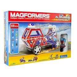 63079 XL Cruisers Emergency Vehicle 33pc Magnetic Construction Set