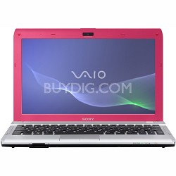 VAIO VPCYB33KX - 11.6 Inch Notebook PC - Pink E-450 Processor