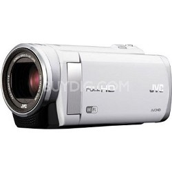"GZ-EX210AUS - HD Everio Camcorder f1.8 40x Zoom 3.0"" Touchscreen WiFi (White)"