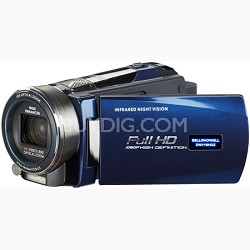 Full 1080p HD Infrared 16MP Night Vision Camcorder w/ 10x Optical Zoom 3 in LCD