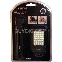 ZE-DS28 LED Video Light with Bonus Bracket