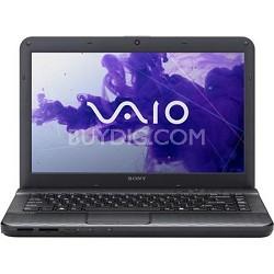 "VAIO VPCEG34FX/B 14.0"" Notebook PC -  Intel Core i5-2450M Processor"