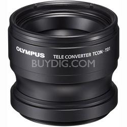 TCON-T01 Tele Converter for Olympus TG-1 & TG-2 (Black)