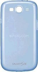 EFC-1G6WBEGSTA Galaxy S III Protective Gel Cover - Transparent Blue