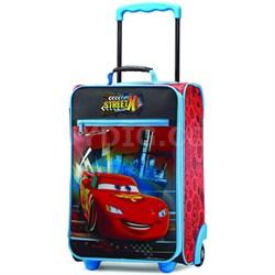 "18"" Upright Kids Disney Themed Softside Suitcase (Cars)"