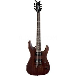 VNXM SN Vendetta XM Solid Body Electric Guitar Satin Natural - Mahagony Finish