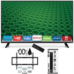 D50-D1 - D-Series 50-Inch Full Array LED Smart TV Slim Flat Wall Mount Bundle