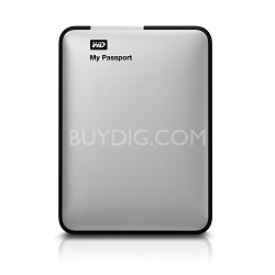 My Passport 500 GB USB 3.0 Portable Hard Drive - (Silver) - OPEN BOX