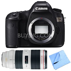 EOS 5DS 50.6MP Digital SLR Camera Zoom Lens Bundle