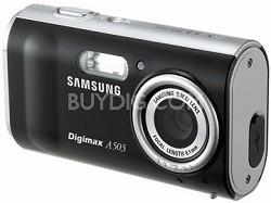 Digimax A503 5.0 mega-pixel Digital Camera (Black)