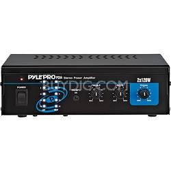 Home Mini 2x120 Watt Stereo Power Amplifier
