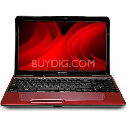 "Satellite 15.6"" L655-S5161RD Notebook PC - Red Intel Ci5 480M Processor"