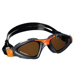 Aqua Sphere Kayenne Swim with Polarized Lens and Gray/Orange Frame - 172730
