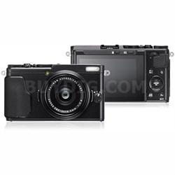 X-70 16.3MP X Series Compact Digital Camera w/ FUJINON 18.5mm F2.8 Lens (Black)