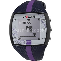FT7  Heart Rate Monitor Watch - Blue/Lilac