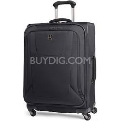 "Maxlite3 25"" Black Expandable Spinner Luggage"