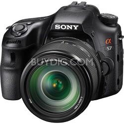 Alpha SLT-A57M 16.1 MP Digital SLR Kit w/ 18-135mm Lens