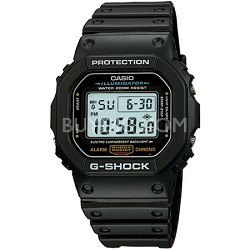 Men's DW5600E-1V G-Shock Classic Digital Watch