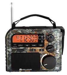 Emergency AM/FM/WX Crank Radio Mossy Oak Camo (ER102MO)