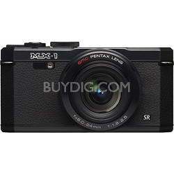 "MX-1 12 MP Black Digital Camera with 3"" LCD and 1080p HD Video - OPEN BOX"