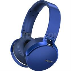 XB950BT Extra Bass Bluetooth Headphones - Blue - OPEN BOX