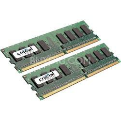 2GB kit (1GBx2), 240-pin DIMM, DDR2 PC2-6400, NON-ECC,