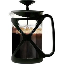 Tempo Coffee Press 6 Cup - Black