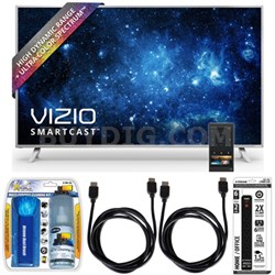 "P65-C1 SmartCast P-Series 65"" Ultra HD HDR TV w/ Essential Accessory Bundle"