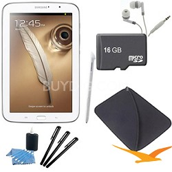 "8"" Galaxy Note 8.0 16GB Exynos 1.6 GHz Quad-Core Processor White Tablet Kit"