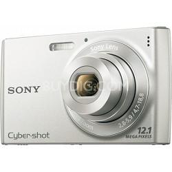 Cyber-shot DSC-W510 Silver Digital Camera