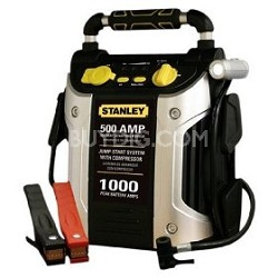 J5C09 500 Amp Jump Starter with Compressor