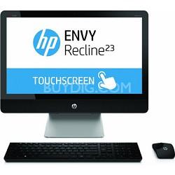 "ENVY Recline 23"" 23-k010 TouchSmart All-in-One PC - Intel Core i3-4130T Proc."