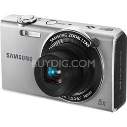 SH100 14MP Silver WiFi Digital Camera w/ 3.0 inch Touch Screen