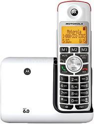 K301 DECT 6.0 Cordless Phone - White