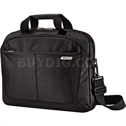 """15.6"""" Slim Brief Computer Bag with Removable Straps"""
