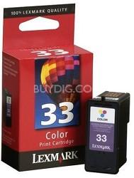 #33 Color Print Cartridge