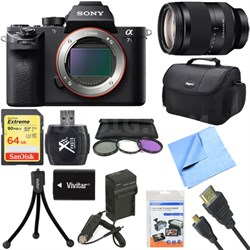 a7S II Full-frame Mirrorless Interchangeable Lens Camera 24-240mm Lens Bundle