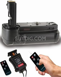BGS-A350 - Battery Grip for Sony Alpha A200/A300/A350 + Remote Control