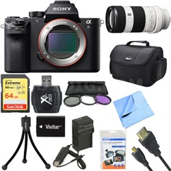 a7S II Full-frame Mirrorless Interchangeable Lens Camera 70-200mm Lens Bundle
