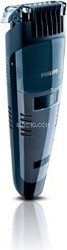 Qt4050/41 Vacuum Beard, Stubble and Moustach Trimmer, Black