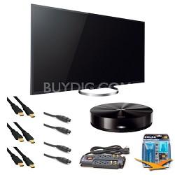 XBR65X850A 65-Inch 4K Ultra HD 120Hz 3D LED HDTV Media Player Bundle