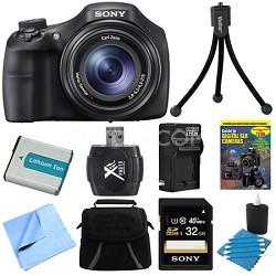 DSC-HX300/B Black Digital Camera 32GB Bundle